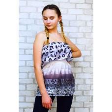 Блуза - туника пляжная летняя