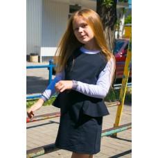 Сарафан школьный с баской (АКЦИЯ)