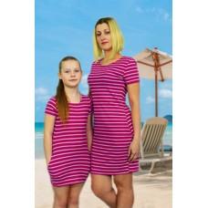 Платье Family look мама + дочка  ( Дочка )