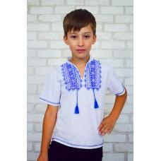 Вышиванка для мальчика с накатом