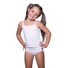Топ+трусы для девочки с ажурной резинкой