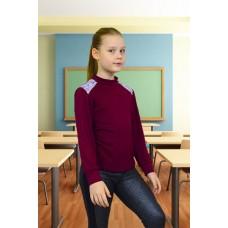 """Блуза """"Виолетта"""" с накатом (длинный рукав)"""
