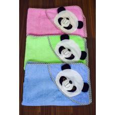 Полотенце для новорожденных с уголком