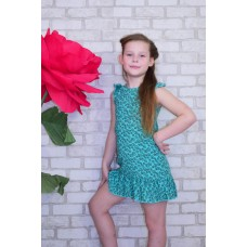 Платье детское с рюшей