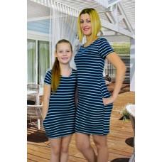 Платье Family look мама + дочка ( Мама )