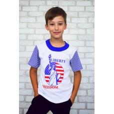 "Футболка детская с накатом ""Freedom"""