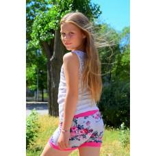 шорты девочковые яркие
