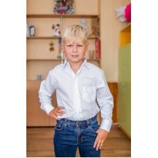 Рубашка школьная (длинный рукав)