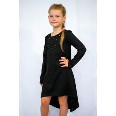 Платье - туника подростковое с бусинками