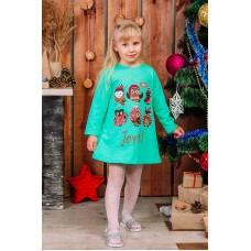 """Платье для Девочки """"  Christmas """""""