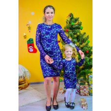 Платье Для Мамы И Дочки (Family Look)