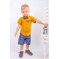 Комплект для мальчика (рубашка+шорты)