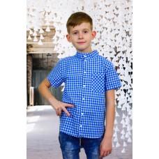 Рубашка для мальчика на кокетке