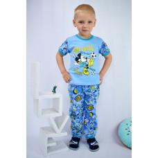 Пижама Для Мальчика С Накатом