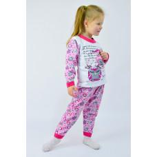 Пижама детская с накатом 7-ка
