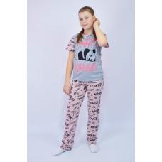 """Пижама подростковая """"Панда"""""""